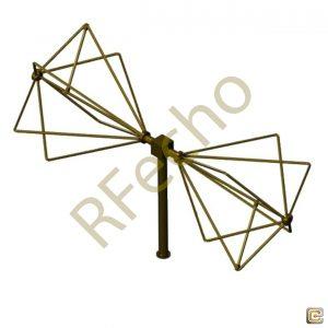 EMC Biconical Antenna OBC-033-10W-4