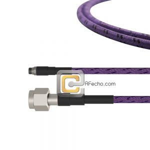 SMA Female to TNC Male LL142 Coax and RoHS F038-320S0-411S0-110-C