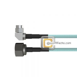 Right Angle SMA Male to N Male LL335i Coax and RoHSF040-321R0-291S0-180-N