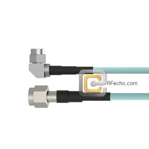 TNC Male to Right Angle SMA Male LL335i Coax and RoHSF040-411S0-321R0-110-N