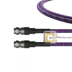 2.92 Male to 2.92 Male OM-102FLEX Coax and RoHS F011-141S0-141S0-400-C