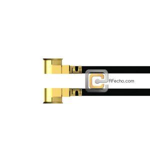 UMCX 2.5 Plug to UMCX 2.5 Plug OM-113 Coax and RoHS F007-451S0-451S0-58-N