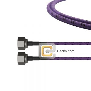 N Male to N Male OM-141 Coax and RoHS F020-291S0-291S0-180-C