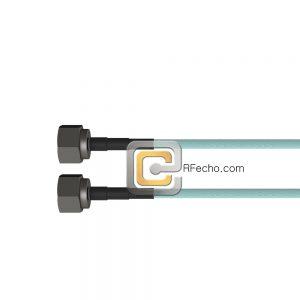 N Male to N Male OM-141 Coax and RoHS F020-291S0-291S0-180-N