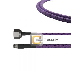 SMA Female to N Male OM-141 Coax and RoHS F020-320S0-291S0-180-C