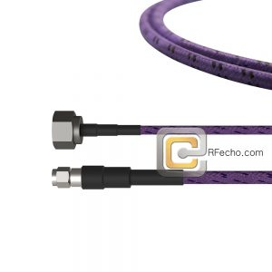 SMA Male to N Male OM-141 Coax and RoHS F020-321S0-291S0-180-C