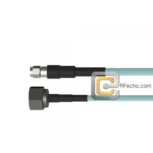 SMA Male to N Male OM-141 Coax and RoHS F020-321S0-291S0-180-N