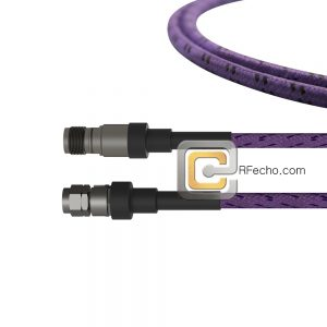 2.4 Female to 2.4 Male OM-160FLEX Coax and RoHS F016-130S0-131S0-400-C
