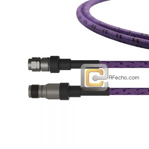 2.4 Male to 2.4 Female OM-160FLEX Coax and RoHS F016-131S0-130S0-400-C
