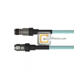 2.4 Male to 2.4 Female OM-160FLEX Coax and RoHS F016-131S0-130S0-400-N