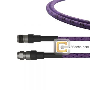 2.92 Female to 2.92 Male OM-160FLEX Coax and RoHS F016-140S0-141S0-400-C