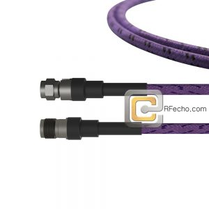 2.92 Male to 2.92 Female OM-160FLEX Coax and RoHS F016-141S0-140S0-400-C