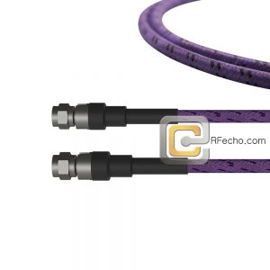 2.92 Male to 2.92 Male OM-160FLEX Coax and RoHS F016-141S0-141S0-400-C