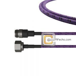 N Male to N Female OM-195TC Coax and RoHS F017-291S0-290S0-180-C
