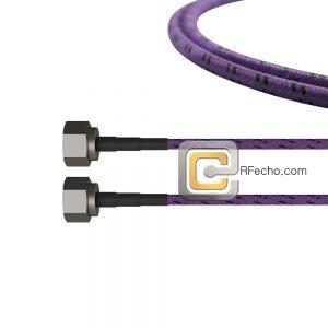 N Male to N Male OM-195TC Coax and RoHS F017-291S0-291S0-180-C