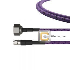 SMA Male to N Male OM-195TC Coax and RoHS F017-321S0-291S0-180-C
