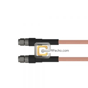 SMA Male to SMA Male RG-142 Coax and RoHS F061-321S0-321S0-125-N