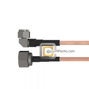 Right Angle N Male to N Male RG-214 Coax and RoHS F063-291R0-291S0-110-N
