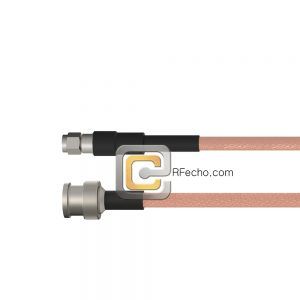 BNC Male to SMA Male RG-316 Coax and RoHS F065-221S0-321S0-30-N