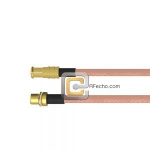 MCX Plug to MMCX Plug RG-316 Coax and RoHS F065-251S0-271S0-30-N