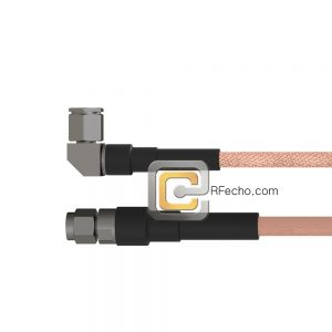 SMA Male to Right Angle TNC Male RG-316 Coax and RoHS F065-321S0-411R0-30-N