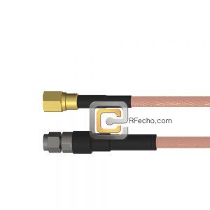 SMC Plug to SMA Male RG-316 Coax and RoHS F065-341S0-321S0-30-N