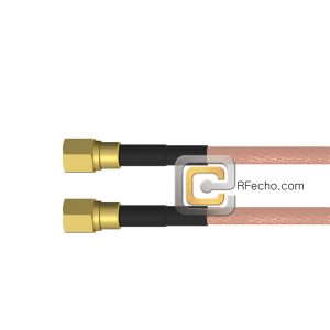SMC Plug to SMC Plug RG-316 Coax and RoHS F065-341S0-341S0-30-N