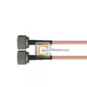 N Male to N Male RG-393 Coax and RoHS F067-291S0-291S0-100-N