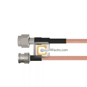 BNC Male to TNC Male RG-58 Coax and RoHS F070-221S0-411S0-40-N